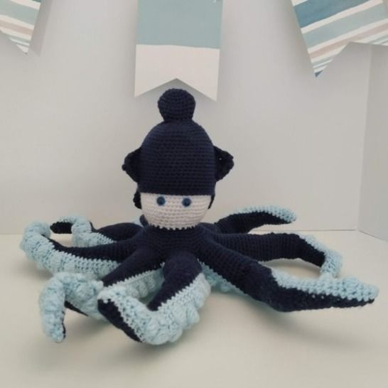 Amigurumi – Octave the octopus - crochet – tutorial at Makerist - Image 1