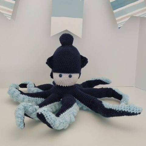 Amigurumi – Octave the octopus - crochet – tutorial