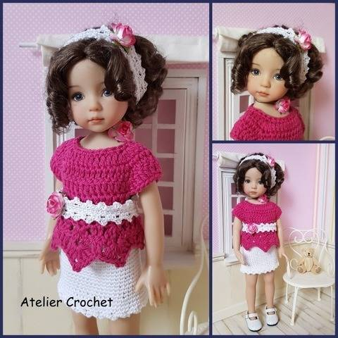 """Joselle"" patron crochet pour Little Darling"