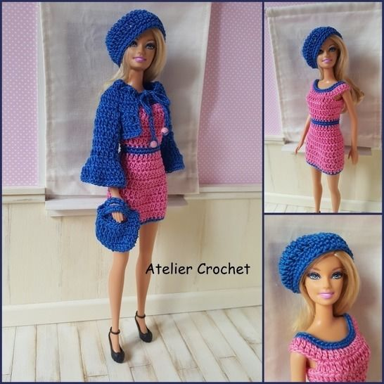 """Irina"" crochet pattern for Barbie at Makerist - Image 1"
