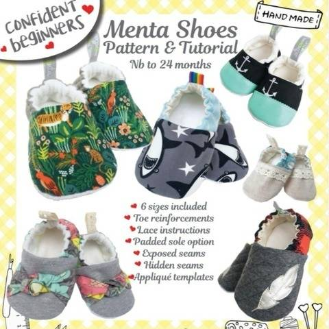 Menta Shoes DIY Baby Sizes