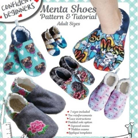 Menta Shoes DIY Adult sizes at Makerist