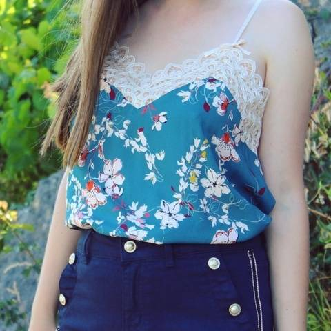 Camisole - PDF pattern for women - Easy