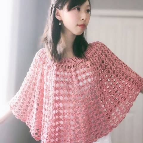 Rose Finch Capelet Vintage Lace Poncho at Makerist