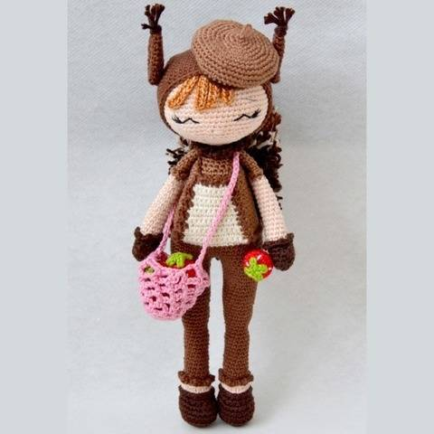 Lilou-P'tite Peste-Pattern Crochet / Amigurumi at Makerist
