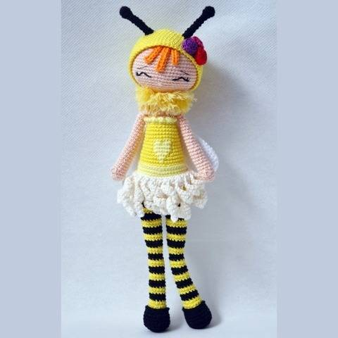 Zoe-P'tite Pest-Pattern Crochet / Amigurumi at Makerist