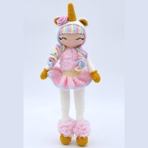 Aurora-P'tite Peste-Pattern Crochet /Amigurumi at Makerist
