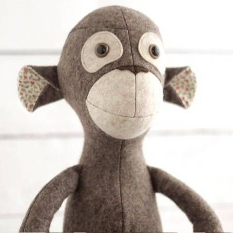 Monkey sewing pattern pdf (EN) bei Makerist