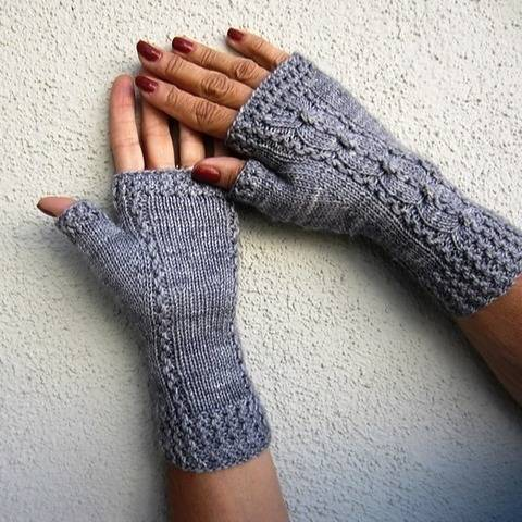 Richmond Mitts - Fingerless Mitts