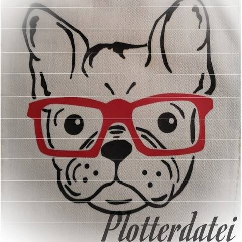 Plotterdatei Frenchie bei Makerist