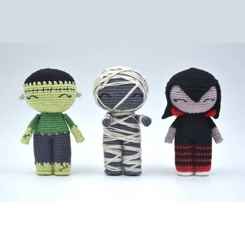 HALLOWEEN-minis p'tites pestes-Pattern /Amigurumi at Makerist