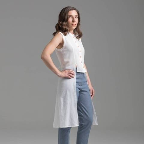 Shirt and shirt dress - PDF pattern - Feuillage