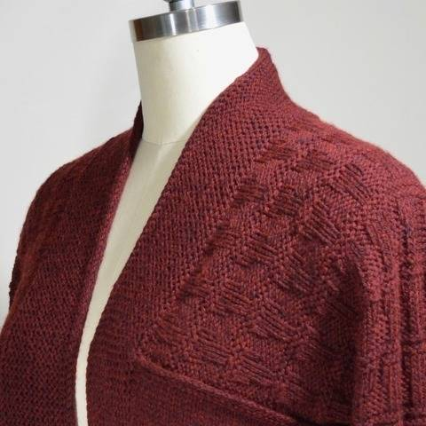 Brettwood Cardigan - knitting pattern