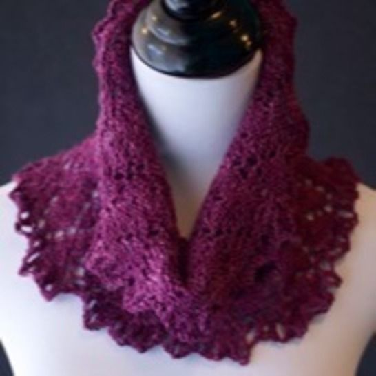 Cowl - Botany Bay Lace Cowl  at Makerist - Image 1