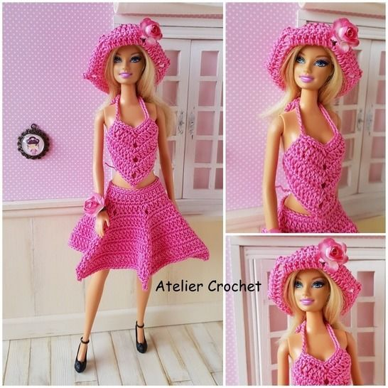 """Barbara"" crochet pattern for Barbie at Makerist - Image 1"