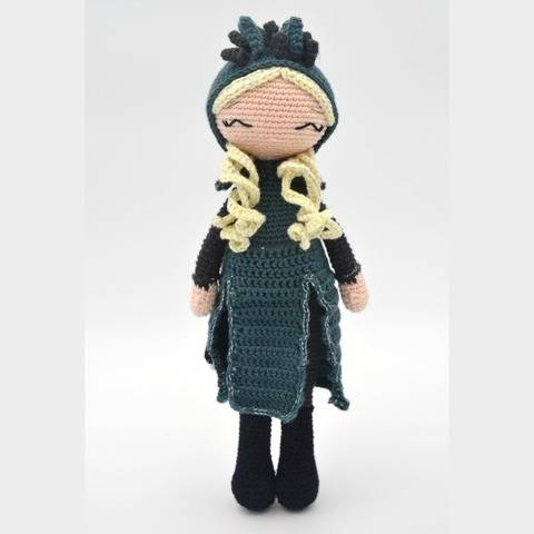 Daenerys-P'tite Peste-Pattern Crochet /Amigurumi at Makerist