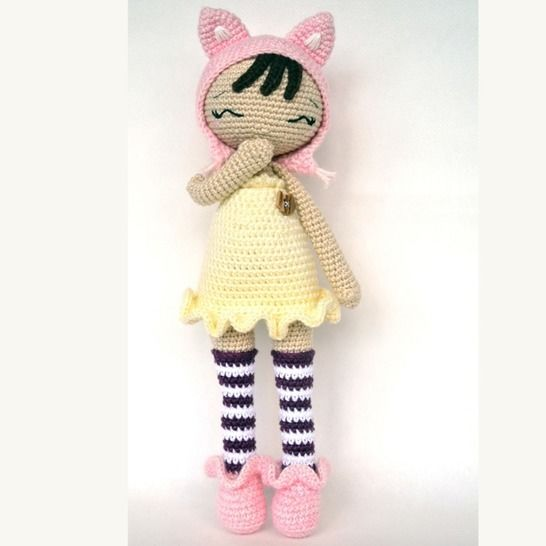 JUSTINE-P'tite Peste-Pattern Crochet /Amigurumi at Makerist - Image 1