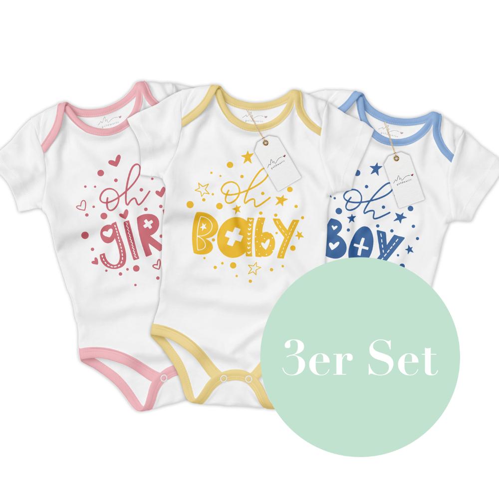 """Plotterdateien 3er-Set """"Oh Baby"""" als SVG und DXF"""