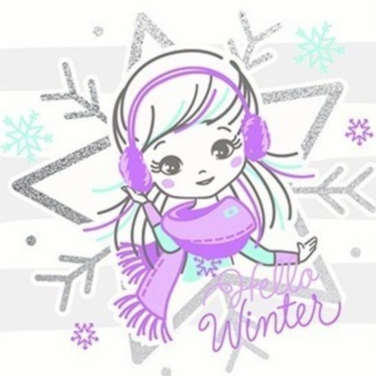 "Plott ""Winter Girl - Stern"" bei Makerist - Bild 1"