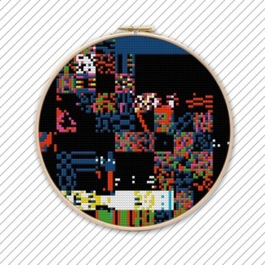 Kreuzstichmuster . POLYCHROME #027 bei Makerist - Bild 1