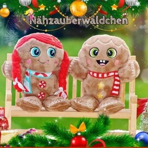 SET Stickdatei 34x LEBKUCHEN ITH 13x18 ITH Weihnachten