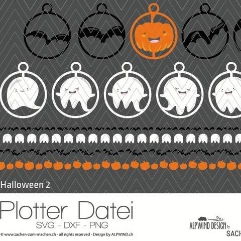 """Plotter-Datei """"Halloween"""" #2"""