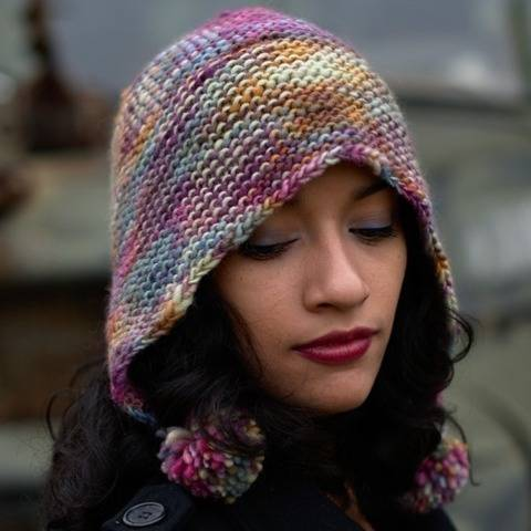 Angelica's Bonnet slouchy bonnet hat - knitting pattern at Makerist