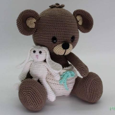 Hab dich lieb! Teddy - Häkelanleitung