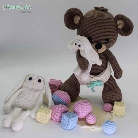Spiel mit mir! - Teddy - Häkelanleitung