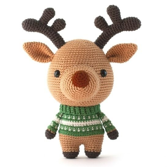 Comet the Reindeer Toy Amigurumi crochet christmas pattern at Makerist - Image 1