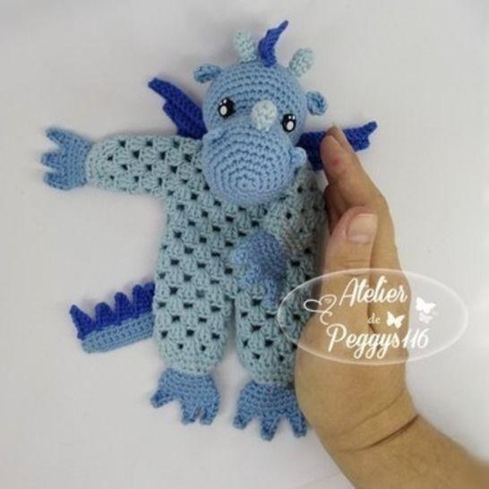 Doudou Dragon Granny chez Makerist - Image 1