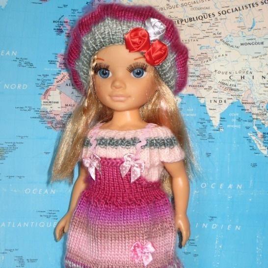 Fiche patron PDF N209  tricot/crochet  Nancy Famosa chez Makerist - Image 1