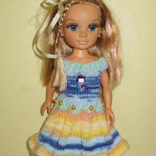 Fiche patron PDF N207 vêtements tricot  Nancy Famosa chez Makerist - Image 1
