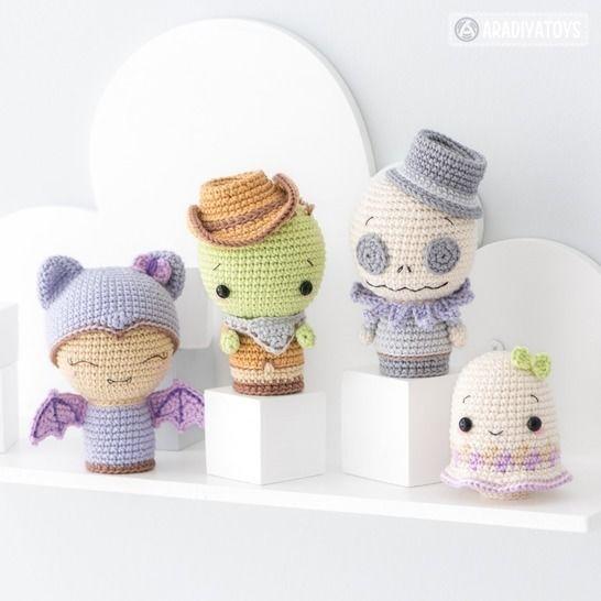 Crochet pattern of Halloween Minis set 2 by AradiyaToys at Makerist - Image 1