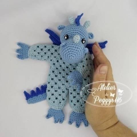 Dragon lovey granny at Makerist