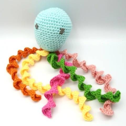 Preemie crochet octopus pattern, baby pattern for charity at Makerist