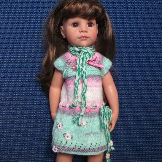 Fiche patron tricot  G17  pour poupée Hannah de Gotz chez Makerist - Image 1