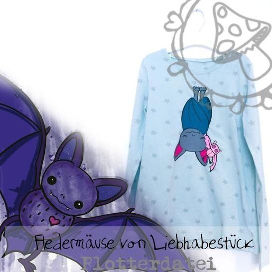 Plotterdatei Fledermäuse  bei Makerist - Bild 1