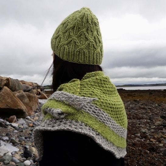 Dun Aengus Shawl at Makerist - Image 1