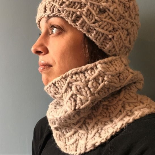 Bipartite Hat and Cowl at Makerist - Image 1