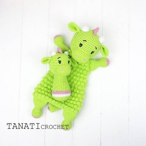 "TUTORIEL CROCHET ""Doudou et hochet DRAGON"" chez Makerist"