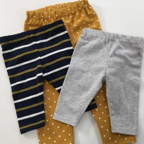 Leggings Sewing Pattern - Newborn-24 months at Makerist