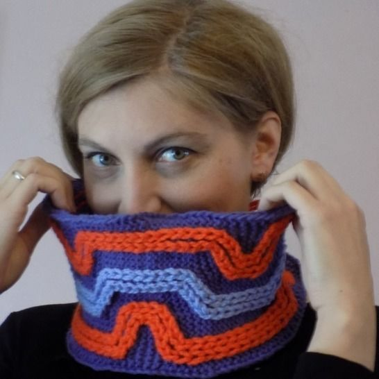 Funny Ellada Knitted Cowl, Knitted Snood, Knit Accessory at Makerist - Image 1