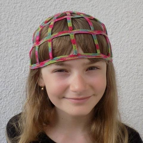 Adults or Children 20's Charleston Crochet Cloche Hat
