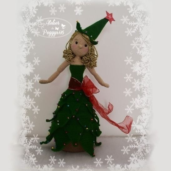 Christmas Tree Doll Box at Makerist - Image 1