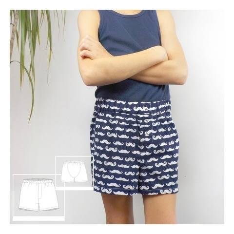 "Boxershorts ""BoxyBoxer"", Anleitung/Schnittmuster Gr.104-170 bei Makerist"