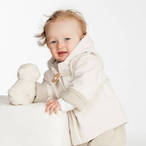 Baby duffle coat and pants pattern bundle BRIO + LUCCA at Makerist