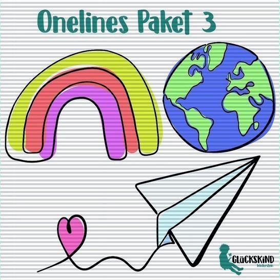 Oneline Plotts Paket 3 bei Makerist - Bild 1