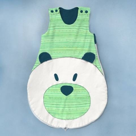 Baby Sleep Bag Sewing Pattern PDF, 0-6 months