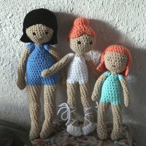 Léonie, Étoile ballerine, et Sidonie - e-book crochet chez Makerist
